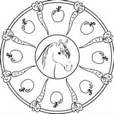 Gratis Malvorlagen Pferde Mandala Pferde Mandala Kostenlos Ausmalbildkostenlos