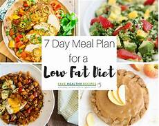 Diet Chart For Dinner 7 Day Meal Plan For A Low Fat Diet Favehealthyrecipes Com