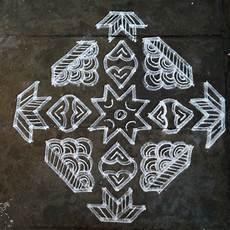 3 Pulli Kolam Designs Rangoli Designs Kolam Pulli Kolam