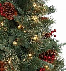 Home Depot Trees With Lights 6 5 Ft Hayden Pine Potted Artificial Christmas Tree With