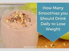 How Many Smoothies a Day to Lose Weight? ? Internet
