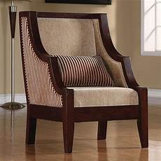 striped accent chairs striped accent chair by coaster 900322