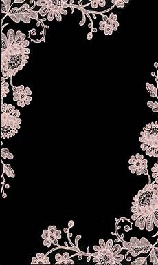 Iphone Wallpaper Black With Flower by Black And White Lace Wallpapers Em 2019 Papeis De
