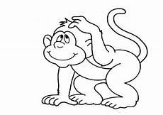 Mono Para Colorear Dibujos Para Colorear Monos
