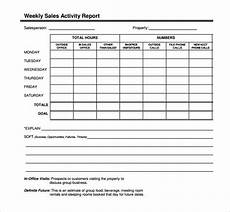 Sales Template Word 30 Sales Report Templates Pdf Excel Word Free