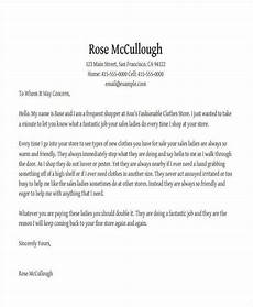 Letter Of Appreciation To Customer 3 Appreciation Letter For Good Service Pdf Free