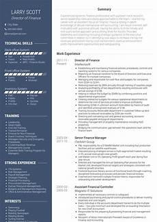 Cv For Finance Financial Controller Resume Examples Mryn Ism