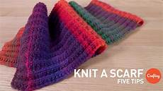 knit beginner how to knit a scarf 5 tips for beginners craftsy