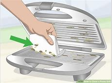 3 Ways to Clean a Panini Grill   wikiHow