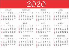 Basic Calendar 2020 Free Blank Printable Calendar 2020 Template In Pdf Excel