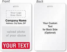 Make Id Badges Online Free Custom Bi Fold Badges Add Text Logo Artwork Amp Info