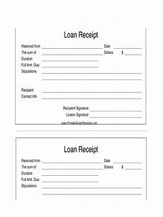 Receipt For The Payment Free 6 Loan Receipt Examples Amp Samples In Pdf Doc