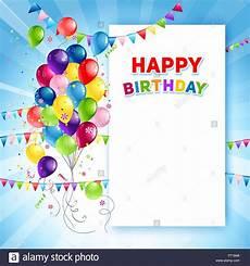 Birthday Cards Design Free Downloads Festive Happy Birthday Card Template Stock Vector Art