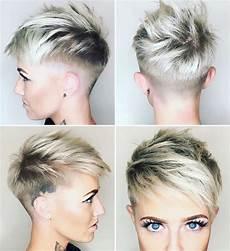 kurzhaarfrisuren frauen frech undercut hairstyle 2018 12 fashion and