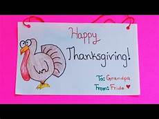 how to make a thanksgiving cards diy thanksgiving cards frida sofia youtube