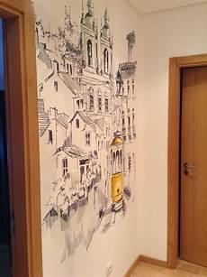 desenho em parede odivelas lisboa portugal por