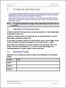 Product Service Plan Business Plan Templates 40 Page Ms Word 10 Free Excel