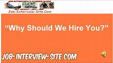How To Answer Why Should We Hire You Quot Why Should We Hire You Quot Interview Question And Best