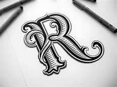 R Letter Designs On Hand Hand Lettering On Behance