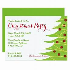 Create Your Own Party Invitations Create Your Own Christmas Party Invitation Zazzle