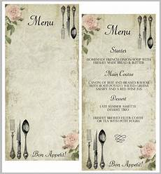Blank Menu Templates Free 30 Blank Menu Templates Ai Psd Docs Pages Free
