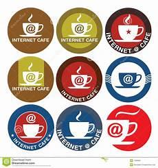 Cafe Logo Design Free Internet Cafe Logo Design Royalty Free Stock Photo Image