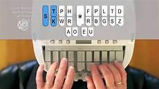 Steno Machine Keyboard Chart How To Write On The Steno Machine Call 877 253 0200