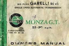 Free Garelli Monza Moped Owners Manual