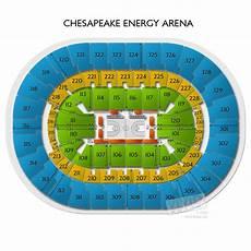 Chesapeake Energy Seating Chart Chesapeake Energy Arena Tickets Chesapeake Energy Arena