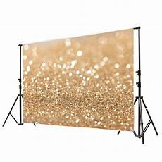 Photographic Vinyl Background Halo Spot by 7x5ft Gold Glitter Sequin Spot Background Backdrop Vinyl