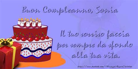 Buon Compleanno Sonia