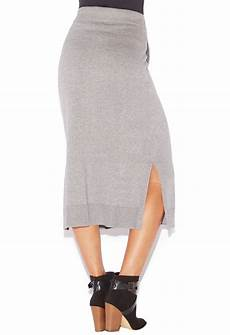 sweater knit midi skirt shoedazzle