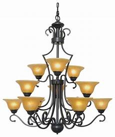12 Light Wrought Iron Chandelier Wrought Iron Chandelier Country French 12 Light Pendant