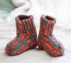 snow day slippers knitting pattern michele