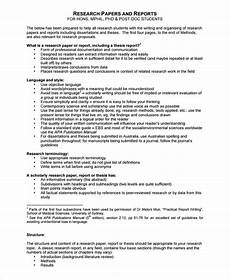 Research Report Example Free 12 Research Report Templates In Pdf