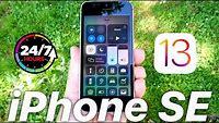 iOS 13 iPhone SE - 24 Hour Challenge