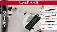 How to replace 🔧 🔋 battery 📱 Apple iPhone SE (A1662 A1723 A1724)
