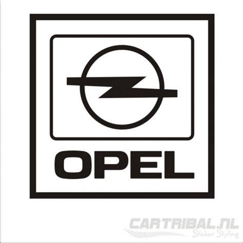 Opel Car Logo by Opel Logo Sticker Model 2