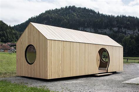 Innauer Matt by Innauer Matt Constructs Exhibition Pavilion Completely In