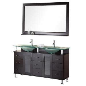 design elements vanity home depot design element redondo 60 in w x 22 in d vanity in