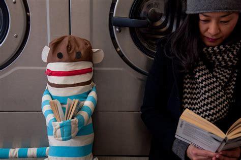 Dirty Sock Monkey Huggable Sock Monkey Laundry Bag Monkey Laundry