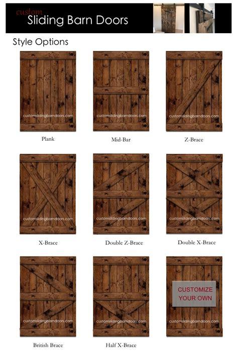 Barn Styles barn door style options custom sliding barn doors