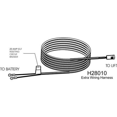 harmar vehicle wiring harness lifts and rs accessories