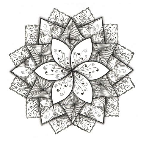flower pattern to draw creative doodling with judy west challenge gallery the