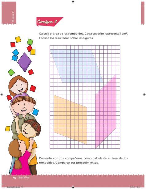 pagina71 del libro de matematicas con respuestas desaf 237 os matem 225 ticos 5 176 grado para el alumno by escuelas