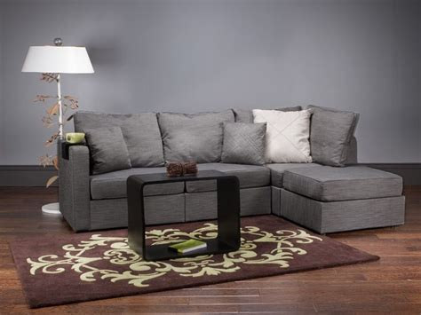Lovesac Furniture Lovesac Sactional 5 Series Four Cushion Chaise Sectional