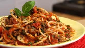 spaghetti with bolognese sauce healthination