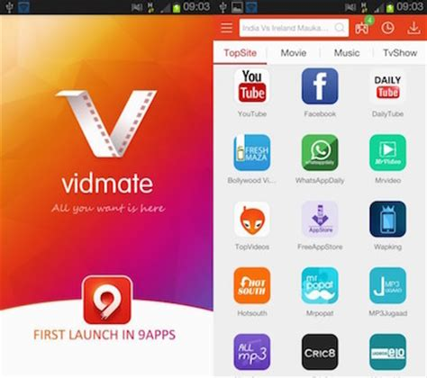 apk apps vidmate app free apk pc android iphone