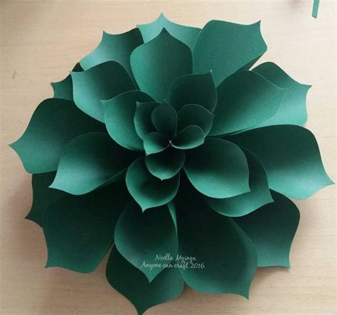 template flower paper craft ariana paper flower anyone can craft