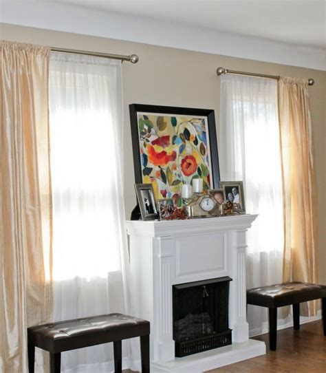 double window treatments 15 best curtains images on pinterest double curtains